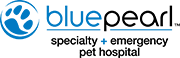 BluePearlPetEmergency.com main logo, homepage link